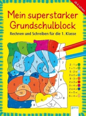 Mein dicker Übungsblock Grundschule mit dem Bücherbär
