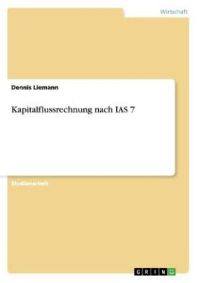 Kapitalflussrechnung nach IAS 7