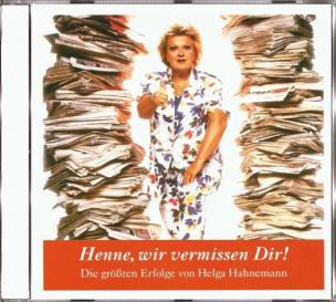 Helga Hahnemann - Henne, wir vermissen Dir! (CD)