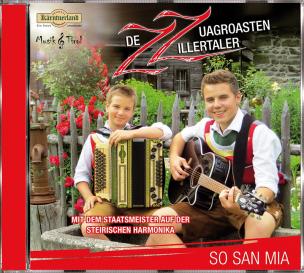 ZZ-De Zuagroasten Zillertaler - So san mia (CD)