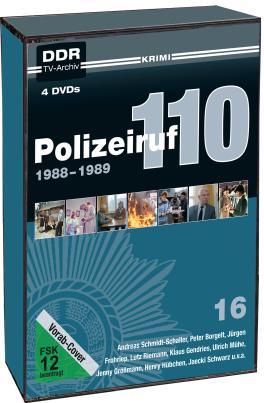 Polizeiruf 110 - Box 16 (DDR-TV-Archiv) (4 DVDs)