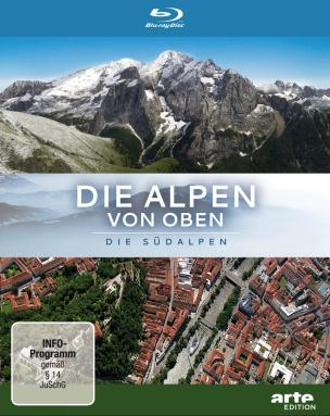 Die Alpen von oben - Die Südalpen (Blu-ray)