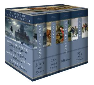 Russische Weltliteratur (4 Bände im Schuber)