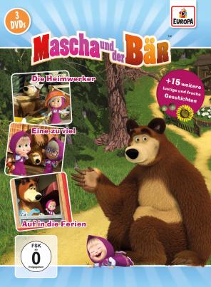 Mascha und der Bär - Sammelbox 2