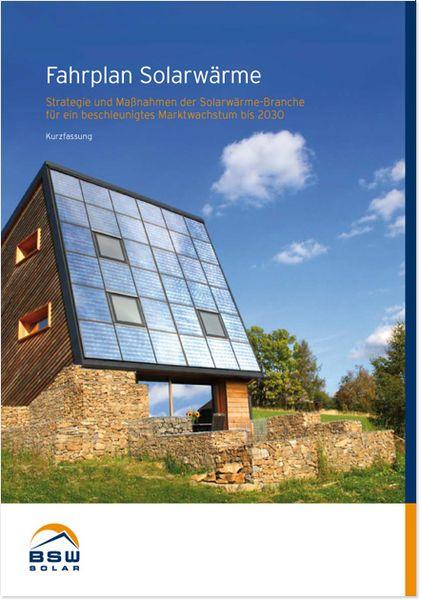 Fahrplan Solarwärme (Kurzfassung)