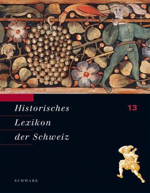 Historisches Lexikon der Schweiz (HLS), 13 Bde.