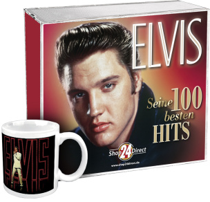 Elvis - Seine 100 besten Hits + LIMITIERTER Tasse