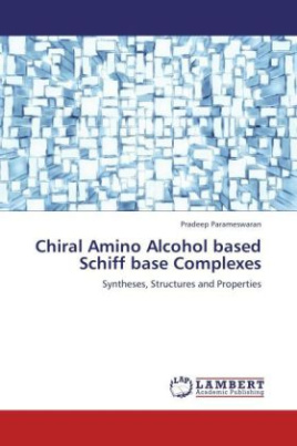Chiral Amino Alcohol based Schiff base Complexes
