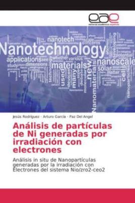 Análisis de partículas de Ni generadas por irradiación con electrones