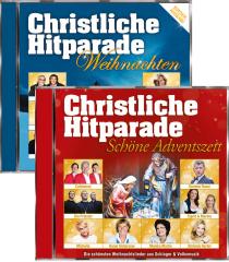 Christliche Hitparade - Schöne Adventszeit + Christliche Hitparade Weihnachten