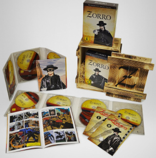 Zorro - Die komplette Serie in einer Holzbox