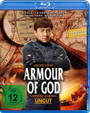 Armour of God - Chinese Zodiac UNCUT, 1 Blu-ray