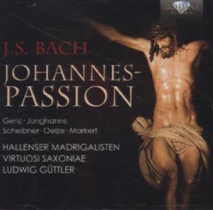 Johannespassion, 2 Audio-CDs