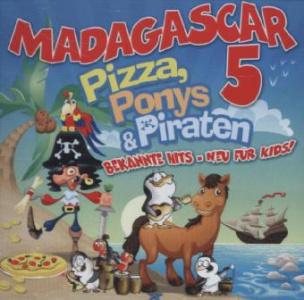 Pizza, Ponys & Piraten, 1 Audio-CD