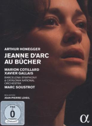 Jeanne d'Arc au bucher, 1 DVD