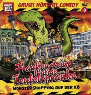 Grusel Hörspiel Comedy - Frankensteins blutige Teufelspranke, 1 Audio-CD