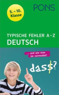 PONS Typische Fehler A- Z Deutsch