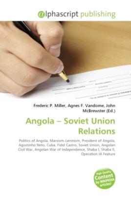 Angola   Soviet Union Relations