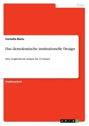 Das demokratische institutionelle Design