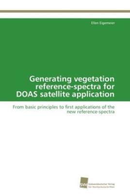 Generating vegetation reference-spectra for DOAS satellite application