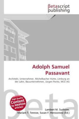Adolph Samuel Passavant