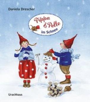 Pippa und Pelle im Schnee