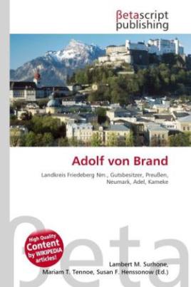 Adolf von Brand