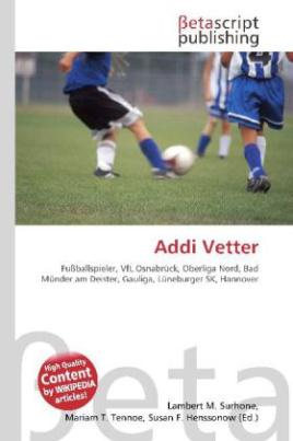 Addi Vetter