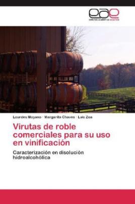 Virutas de roble comerciales para su uso en vinificación
