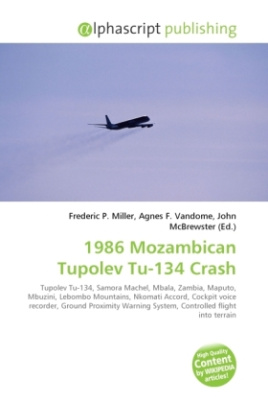 1986 Mozambican Tupolev Tu-134 Crash