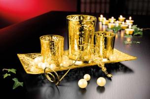 Exklusiver Teelichthalter im 3er Set