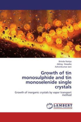 Growth of tin monosulphide and tin monoselenide single crystals