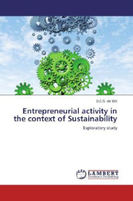 Entrepreneurial activity in the context of Sustainability