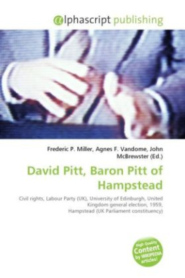 David Pitt, Baron Pitt of Hampstead