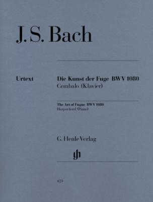 Die Kunst der Fuge BWV 1080, Klavier