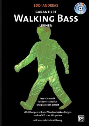 Garantiert Walking Bass lernen, m. Audio-CD