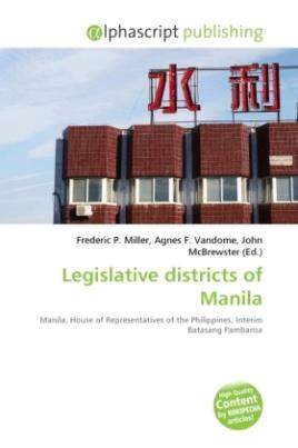 Legislative districts of Manila