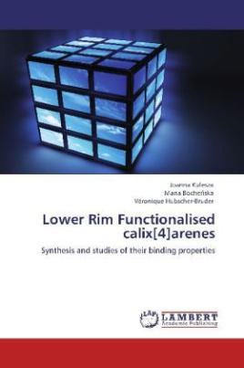 Lower Rim Functionalised calix[4]arenes