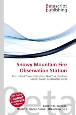 Snowy Mountain Fire Observation Station