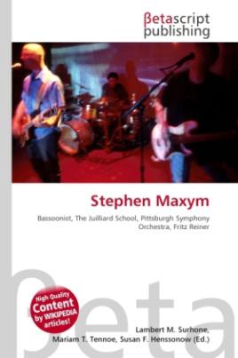 Stephen Maxym