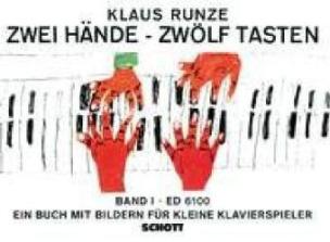 Zwei Hände - Zwölf Tasten. Bd.1