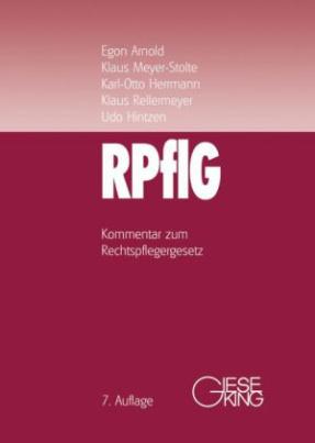 Rechtspflegergesetz (RPflG), Kommentar