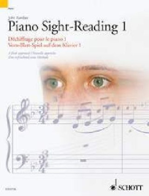 Vom-Blatt-Spiel auf dem Klavier. Piano Sight-Reading. Dechiffrage pour le Piano. Tl.1