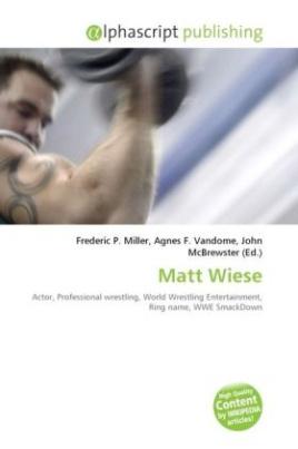 Matt Wiese
