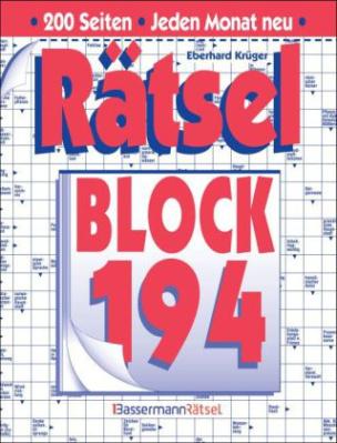 Rätselblock. Bd.194