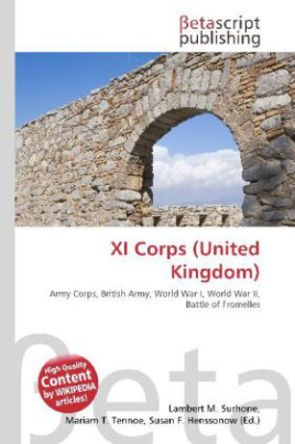 XI Corps (United Kingdom)