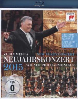 Neujahrskonzert 2015 / New Year's Concert 2015, 1 Blu-ray