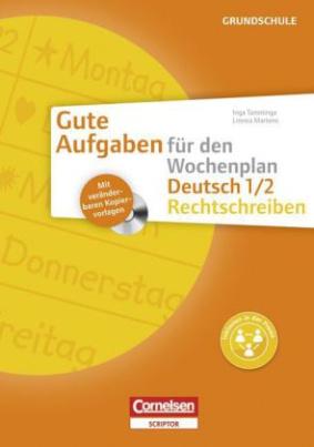 Deutsch 1/2 - Rechtschreiben, m. CD-ROM