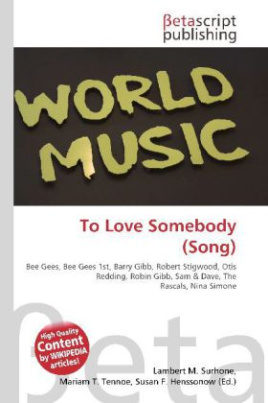 To Love Somebody (Song)