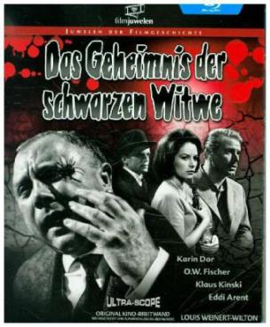Das Geheimnis der schwarzen Witwe, 1 Blu-ray